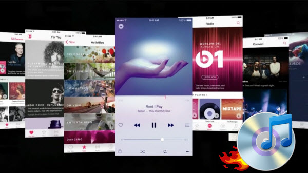 Graver Apple Music sur CD