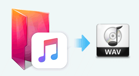 Apple Music en WAV