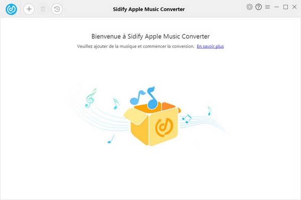 Interface principale de Sidify Apple Music Converter