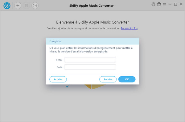 Enregistrer Sidify Apple Music Converter Windows
