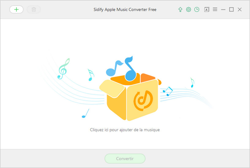 Interface principale de Apple Music Converter Free