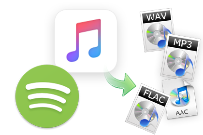 Convertir Spotify Music et Apple Music en MP3, AAC ou WAV